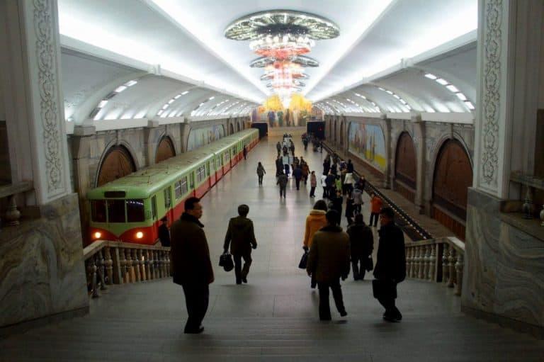 North Korean metro