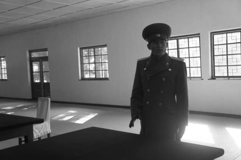 inside DMZ North Korea