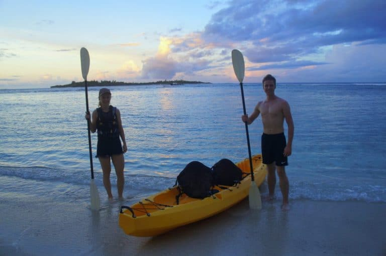 Kayaking with Canopus Retreats