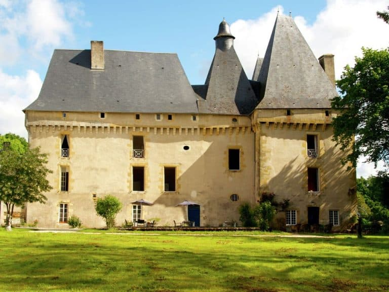 The medieval castle