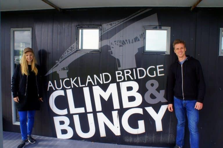 Auckland Bridge Climb and Bungy Tinggly
