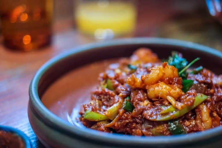 Best Dishes in London: Hot Butter Devilled Shrimps at Hoppers