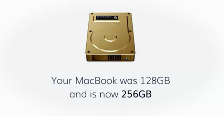 Macbook memory increased TardDisk