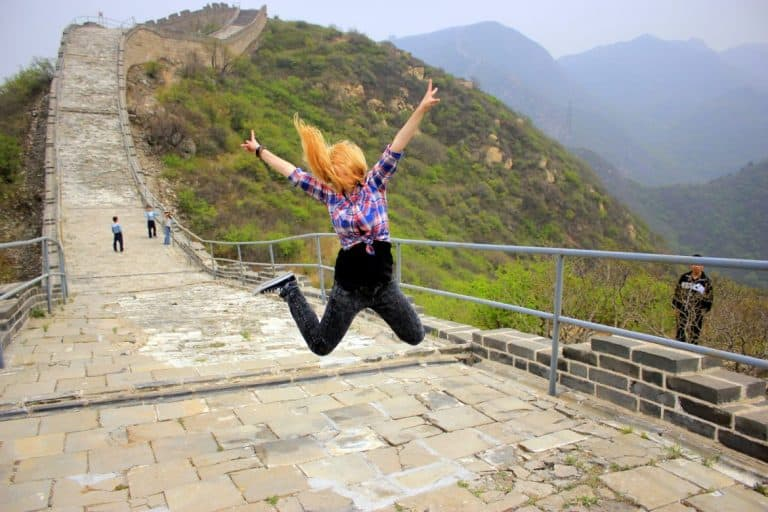 The Great Wall of China jump
