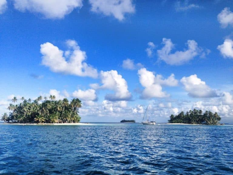 The San Blas Islands in Panama
