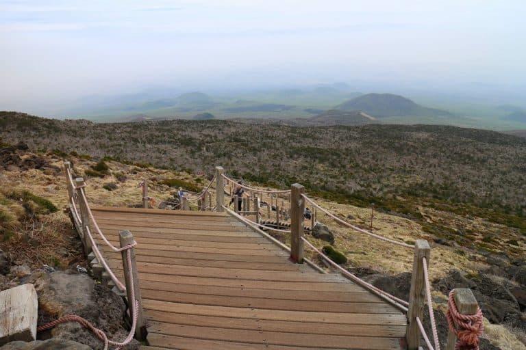 hallasan-hike-top