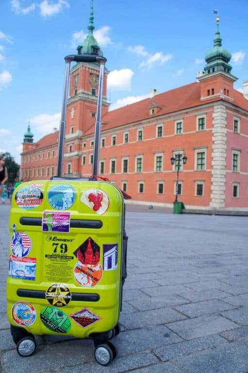 luggage in Warsaw