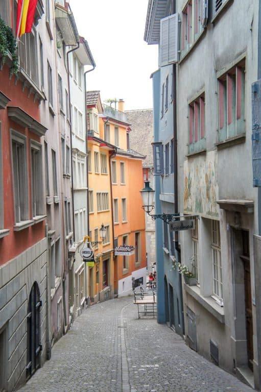 Streets of Zurich