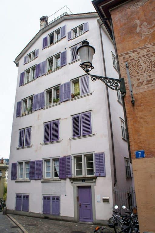 Buildings in Zurich