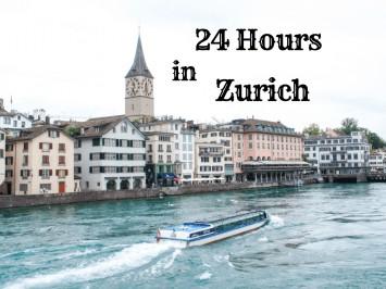 24 hours in Zurich