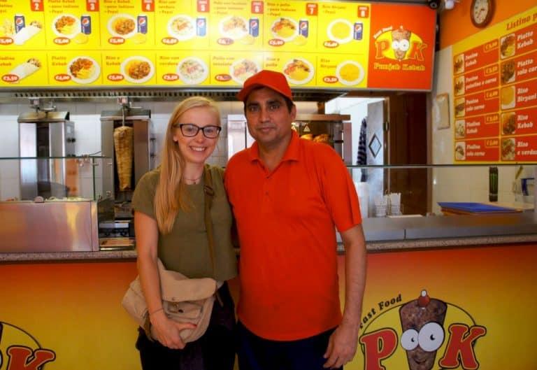 Kebab in Foggia city, Italy