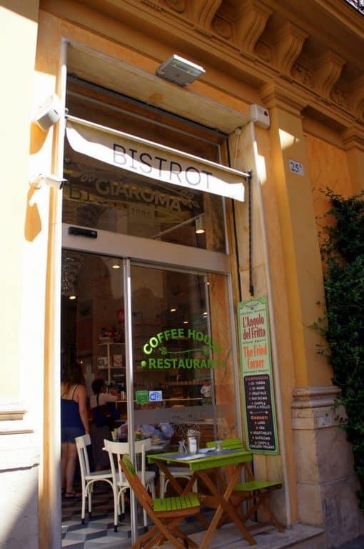 the café Gia Roma 1886