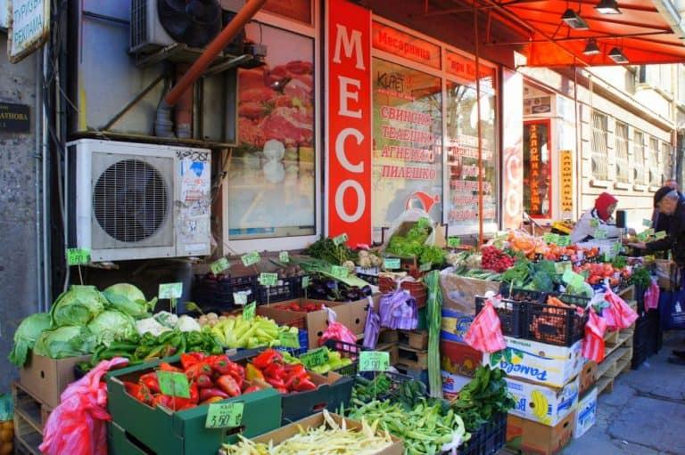 Market in Sofia