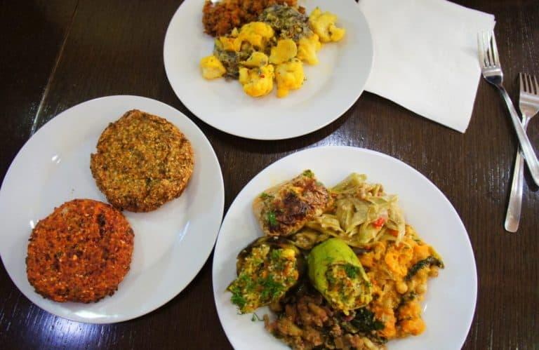 Vegan food in Sofia