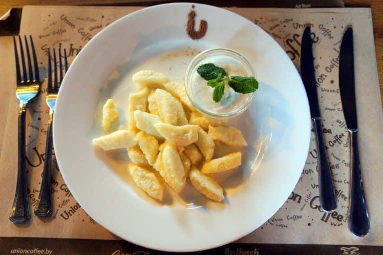 Delicious meal in Minsk, Belarus