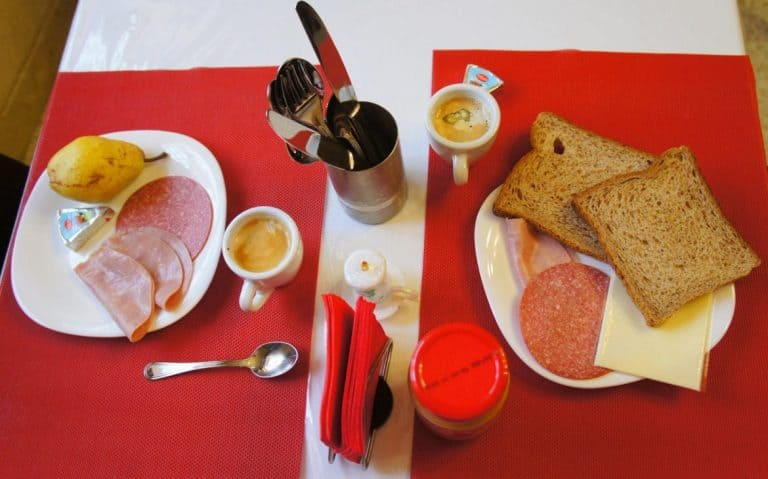 Breakfast at D'Ambrogio guesthouse