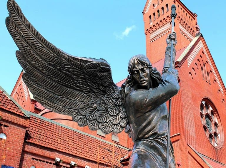 Monument in Minsk