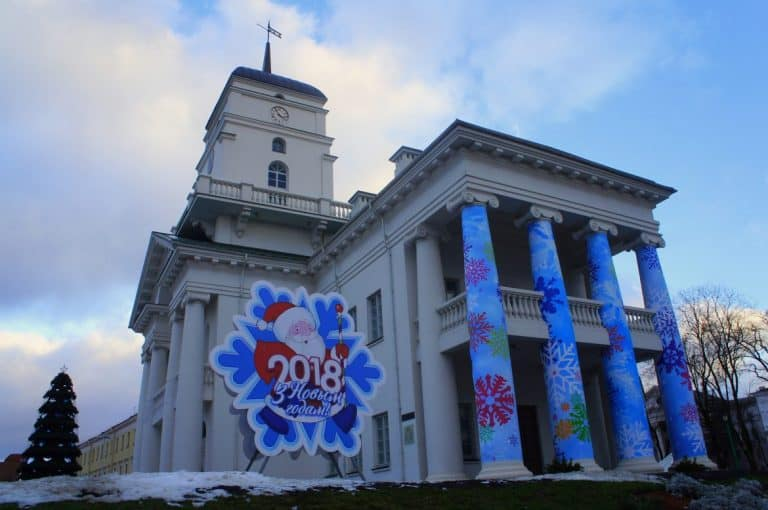 Christmas church in Minsk, Belarus