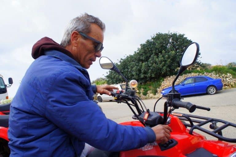 Our quad bike expert
