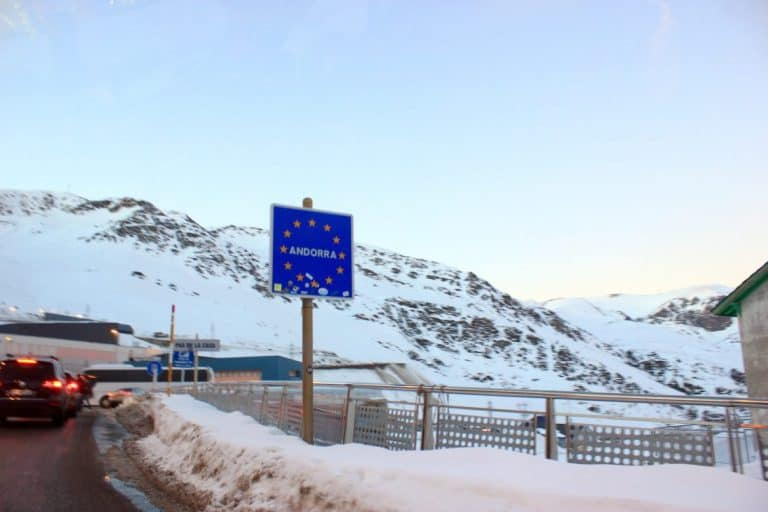 Andorra road