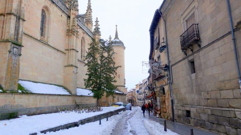 Alley in Segovia