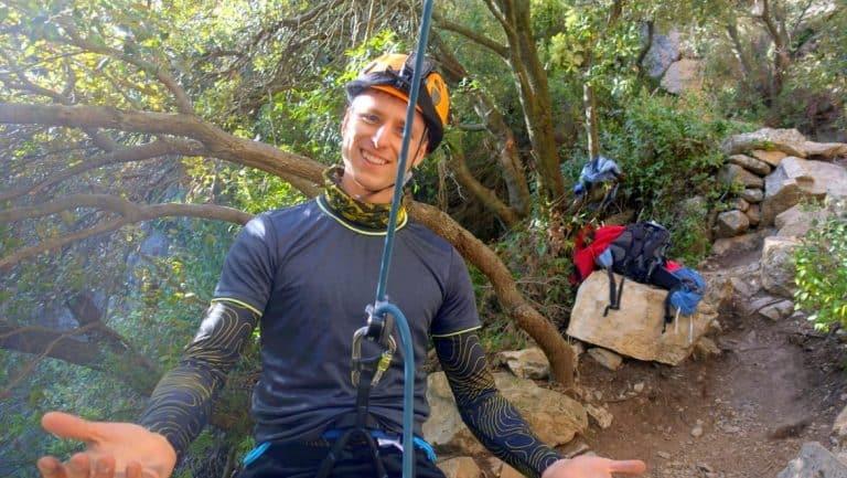 Cez before climbing Siurana