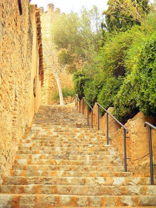 Majorca Spain old town