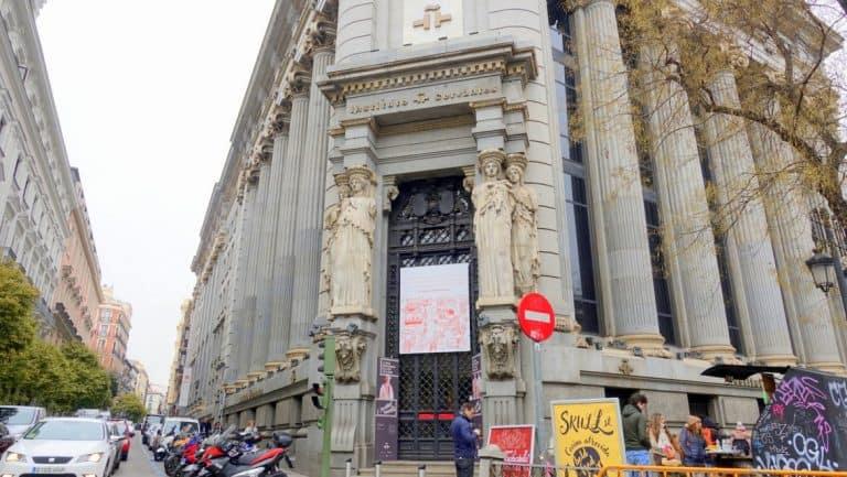 The Instituto Cervantes of Madrid