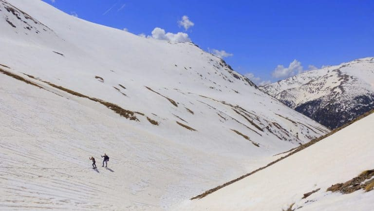 Snowshoeing in the Pyrenees