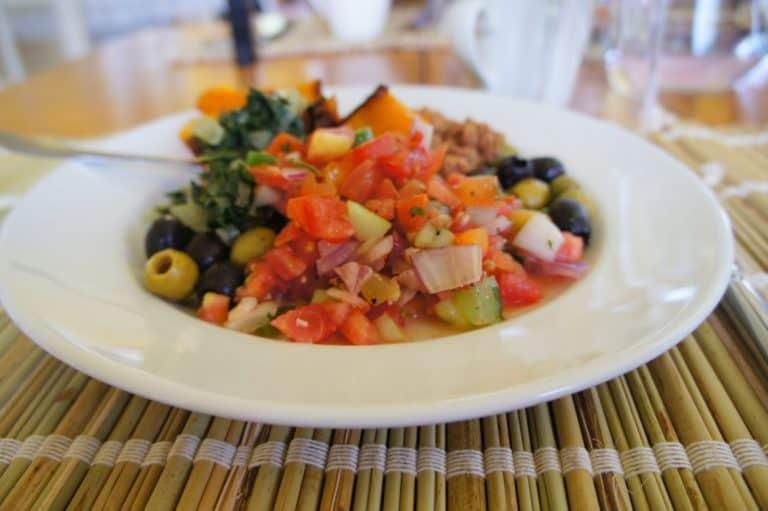 A meal in Kenya