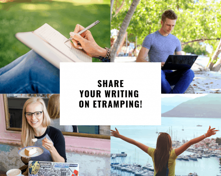 Share your writing on Etramping