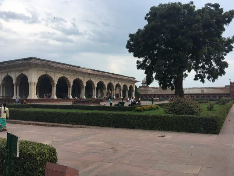 Garden in Agra Fort