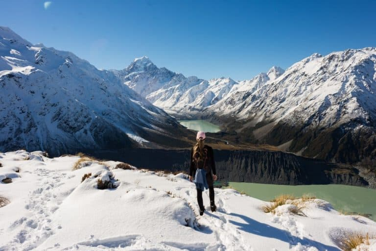 views of the hooker valley