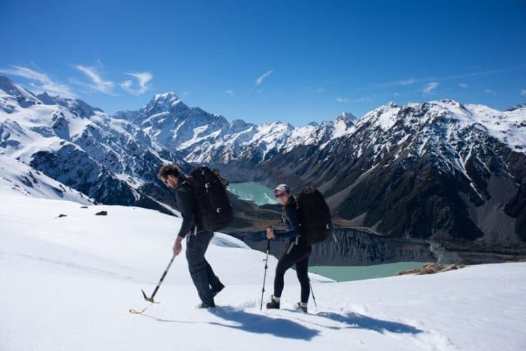 the view of the hooker valley