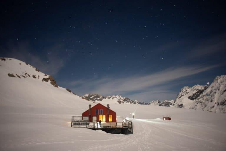 the mueller hut new zealand