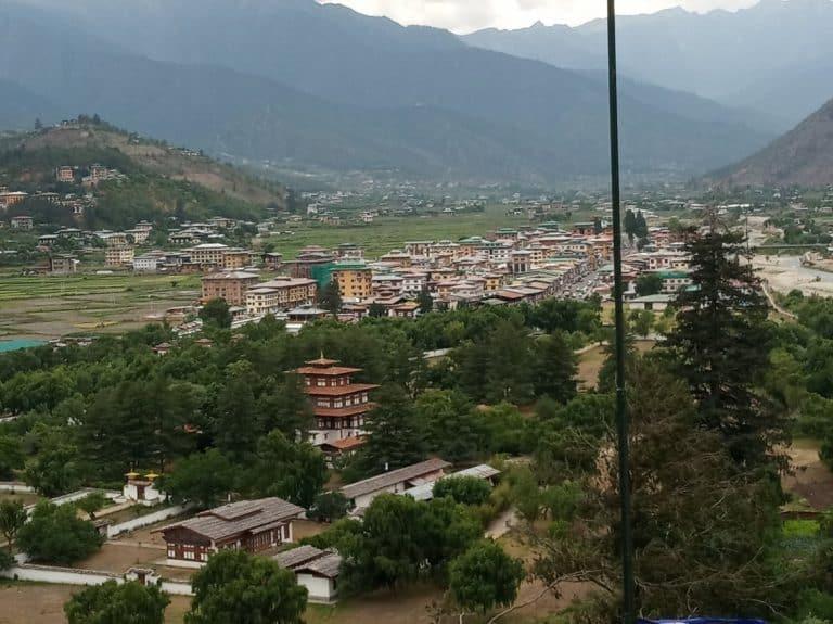 Bhutan Tour Itinerary - Paro Town