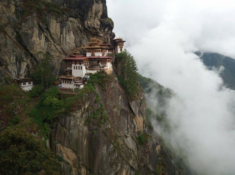 The Tiger's Nest Monastery - Bhutan Tour Itinerary