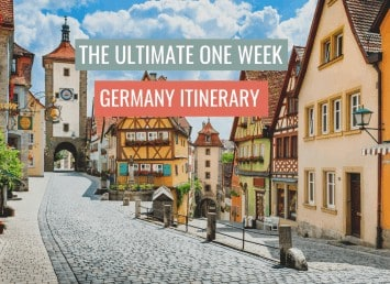 featured image one week germany itinerary