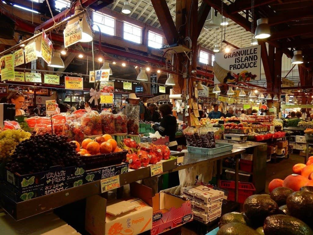 3 day Vancouver itinerary - Granville Island Market