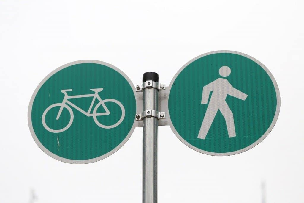 Vancouver Bike Lane Sign