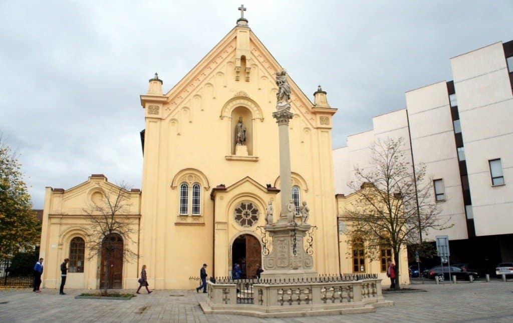 A Church In Bratislava