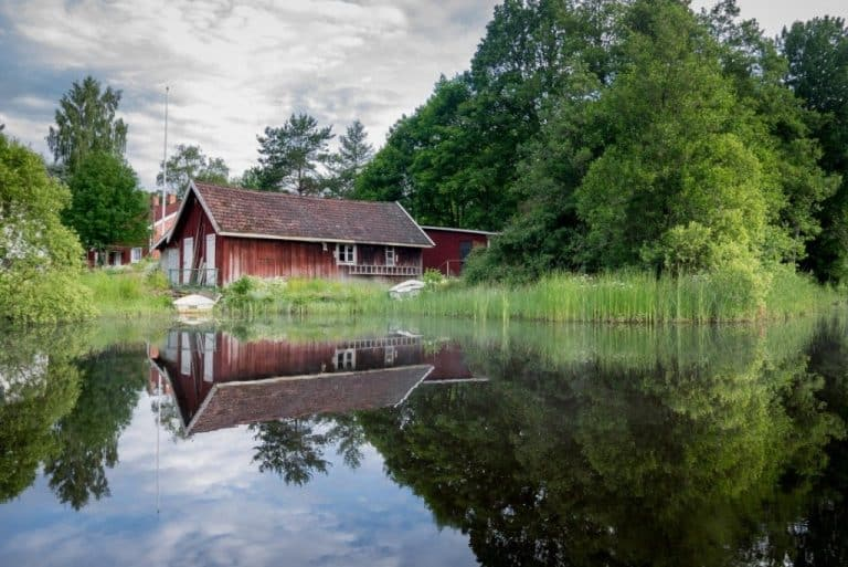 A House Close To Nature In Sweden