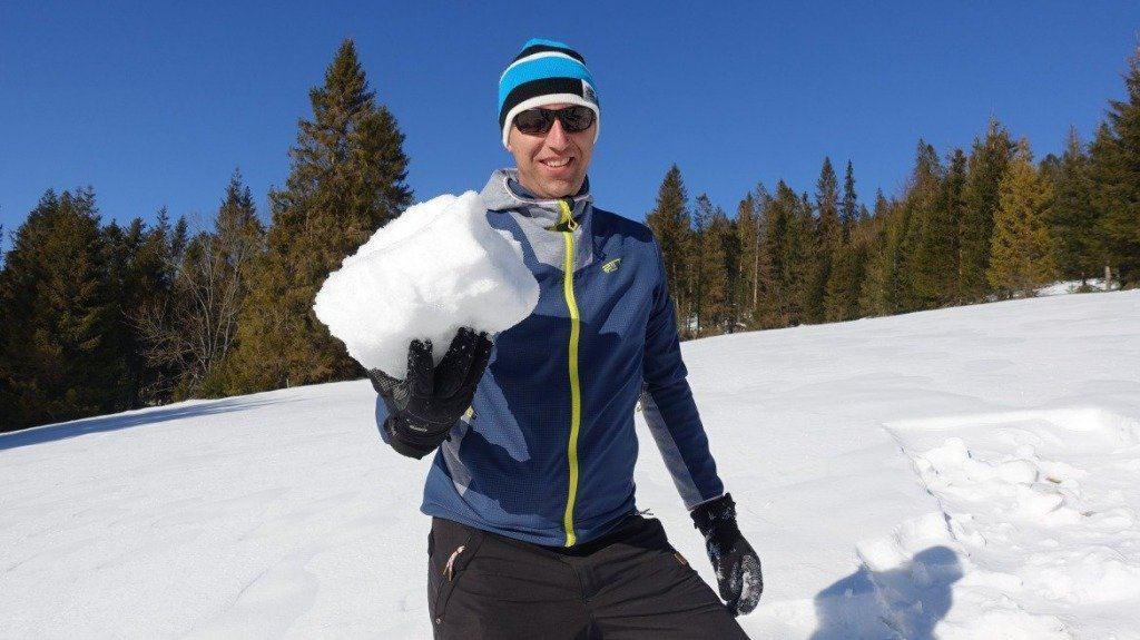 Erik With Snow