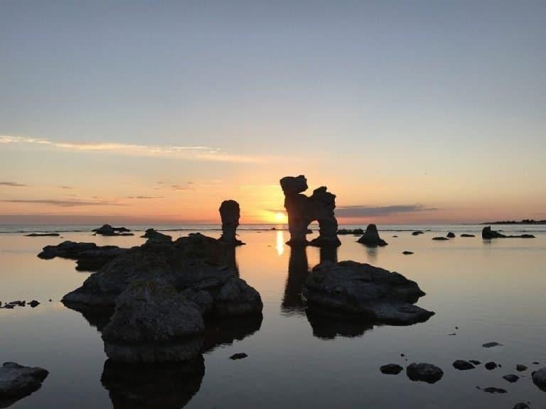 Gotland Sea Stacks