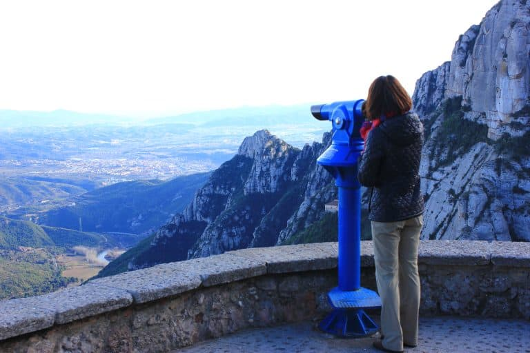 Montserrat offers incredible views. Be sure to hunt around for the best views in Montserrat