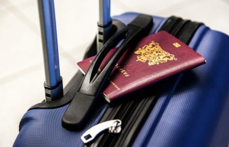 Luggage And Passport