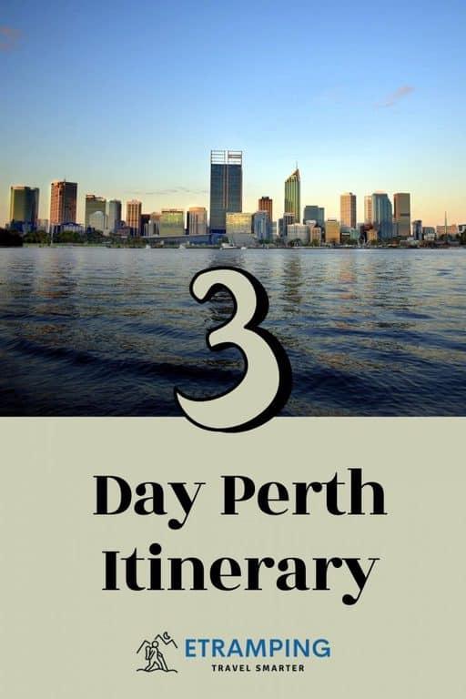 Perth Itinerary Etramping Pinterest