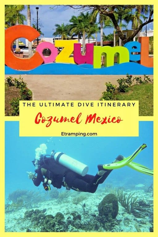 The Ultimate 4 Day 3 Night Dive Itinerary For Cozumel Mexico