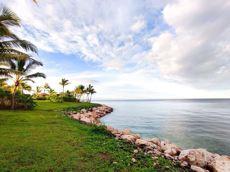 Beach side in Fiji Marriott Resort