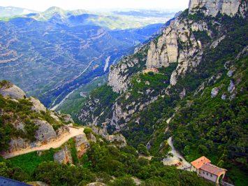 Montserrat Spain mountains and hills